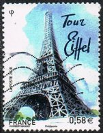 France 2010 European Capitals 58c Paris Good/fine Used - France