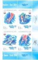 2014. Azerbaijan, Winter Olympis Games Sochi,  Set,  Mint/** - Winter 2014: Sochi