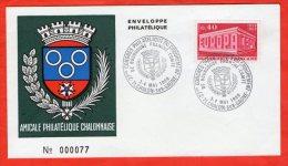 AMICALE PHILATÉLIQUE CHALONNAISE 3.4 05 1969 - 1960-1969
