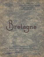 Stations Climatiques , Thermales Et Touristiques/ESSI/ Bretagne/Dinan-Dinard-Qui Mper-Erquy//1935   PGC55 - Bretagne