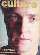 The Sunday Times Culture 02/2003 Hugh Grant Doors Spielberg Di Caprio Nicholson Baker - Nouvelles/ Affaires Courantes