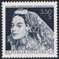 Autriche - Industrie De La Broderie Du Vorarlberg 1094 ** - 1945-.... 2nd Republic