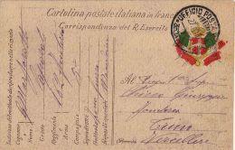 FRANCHIGIA POSTA MILITARE 35 DIVISIONE A 1916 MACEDONIA X TRINO RARA - 1900-44 Vittorio Emanuele III