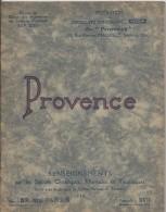 Stations Climatiques , Thermales Et Touristiques/ESSI/ Provence/Castellane-Uzés-Orange-Nimes/1 935 PGC60 - Franche-Comté