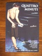 Quattro Minuti Movie Film Carte Postale - Advertising