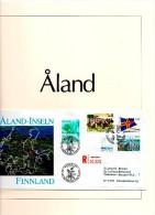 .1984 - 1992 Finnland Aland Sammlung In Safe-Album In Vordruckblättern # (AA1) - Aland