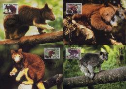 (WWF-328) Maxi Maximum Cards / Maxicard W.W.F. Papua New Guinea 2003 - Cartes-maximum