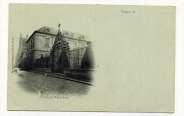 CP , 10 , TROYES , Grille De L'Hôtel-Dieu - Troyes