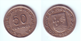 Mozambique 50 Centavos 1936 - Mozambique