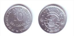 Guinea 10 Centavos 1973 - Guinea-Bissau