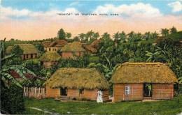 Cuba - ** Bohios - Or Thatched Huts ** - Cpa En Bon état -voir 2 Scans. - Postcards