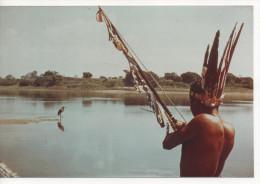 PHOTO CHANTEUR INDIEN TIR A L' ARC OISEAU  10 X 15 CMS - Fotografia