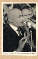 Illustration : SID CARA PRESIDENT DU COMITE ALGERIEN DE SALUT PUBLIC - Vieux Papiers