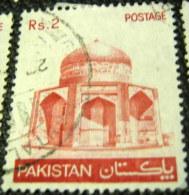 Pakistan 1979 Mausoleum Of Ibrahim Khan Makli 2r - Used - Pakistan