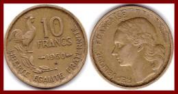 """Franc 10 FRANCS GUIRAUD 1950  """"B""""  Bronze Alu  F363/3 - K. 10 Francs"""