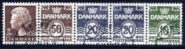 DENMARK 1977 2 Kr. Booklet Pane Used  Michel H-Blatt 15 - Booklets