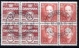 DENMARK 1992 20 Kr. Booklet Pane Used  Michel H-Blatt 44 - Booklets
