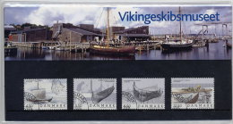 DENMARK 2004 Viking Ship Museum Presentation Pack With Cancelled Stamps. Michel 1377-80 - Denmark
