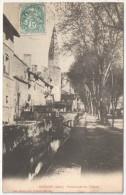 38 - CREMIEU - Promenade Des Tilleuls - 1904 - Crémieu
