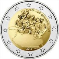 2 EURO COMMEMORATIVE MALTE 2013 L'autonomie Gouvernementale De 1921 UNC - Malta