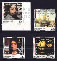 Australia 1985 Terra Australis Set Of 4 Used - - - 1980-89 Elizabeth II