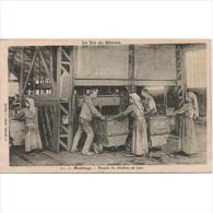 TBJTP1852-LFTD108TPROMI.Tajeta Postal De.trabajo.frances.LA VIDA DE UN MINERO - Mineral