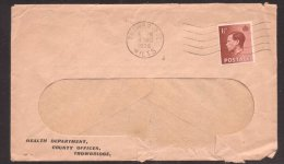Great Britain 1936 Postal History Rare Cover Health Department D.157 - 1902-1951 (Kings)