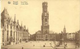 Old Picturecard Brugge Grand Place - Brugge