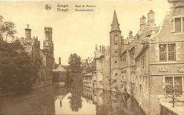Old Picturecard Brugges Quai De Rosaire, Rozenhoedkaai - Brugge