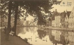 Old Picturecard Brugges Quai Long, Lange Rei - Brugge