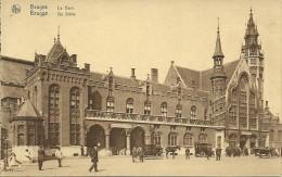 Old Picturecard Brugges La Gare, De Statie - Brugge