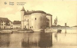 Old Picturecard Brugges Porte Sainte Crois, St. Kruispoort - Brugge