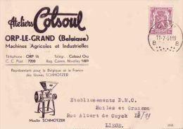 ORP LE GRAND  COLSOUL - Orp-Jauche