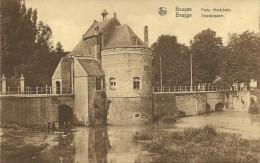 Old Picturecard Brugges Porte Marechale, Smedenpoort - Brugge