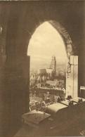 Old Picturecard Brugges Panorama Pris D' Une Fenetre De La Tour De Belfroi - Brugge