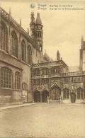 Old Picturecard Brugges Basilique De Saint Sang, Basiliek Van Het Heilig Bloed Christi - Brugge