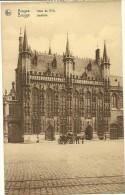 Old Picturecard Brugges Hotel De Ville, Stadhuis - Brugge