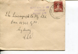 (111) Australia Cover Posted From RAAF Laverton Air Base In 1950's - Militaria