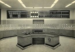 Charbonnage De Monceau-Fontaine Centrale Electrique: Poste Electrique Principal: Tableau Lumineux De Signalisation Et .. - Mijnen