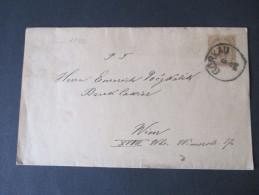 Österreich 1896 Streifband Görkau - Wien - 1850-1918 Imperium