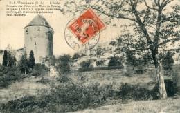 Thouars L'ecole Primaire Des Filles Et La Tour Du Prince De Galles - Thouars