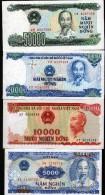VIET-NAM - 5000, 10,000, 20,000 Et 50,000 DONG - Viêt-Nam