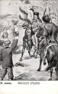 #2968 Hungarian Postcard Mailed 1906: II. Rakoczi Ferencz On Horse, 1676 -1735, Prince Of Transylvania - Personnages Historiques