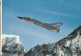 MIRAGE SUR CARTE POSTALE - Aviation