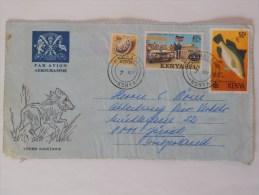 Kenya Lettre Mombasa Pour Zurich ( Defaut ) - Kenya (1963-...)