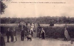 Frontière Entre Mars La Tour Et Vionville Surveillée Par Gendarmes Allemands - Département 54 (vierge) - Sonstige