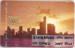 Singapore - ITU Asia Telecom May 93 Demo, 100U, Mint - Singapur