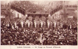 Loterie Coloniale + Pub Verso (1938) - Cartes Postales