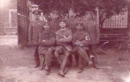 Croix-Rouge - Carte Photo écrite -14-18 (1917) - Croix-Rouge