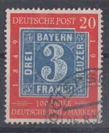 Bund Minr.114 Gestempelt Plf. Nach Schantl  Strich Unter P Von Post - Gebraucht
